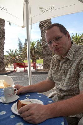 20.2. Käsekuchen im Café Anton
