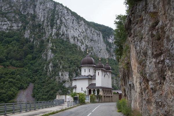 13.6. Am Eisernen Tor befindet sich auch das orthodoxe Mraconia Kloster.