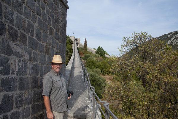 4.9. Das Festungssystem von Ston gilt als Europas längste Wehr- und Stadtmauer.
