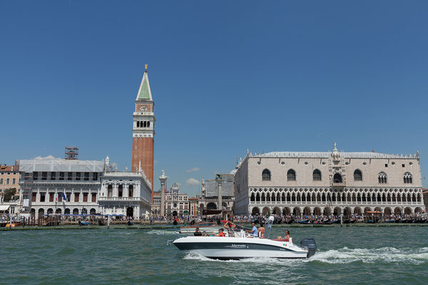 01.07. Vaporettofahrt: San Marco