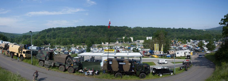 Letzter Blick auf die Camp Area