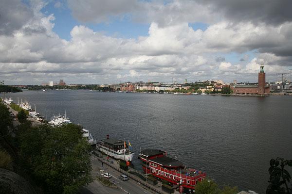 Montelius Vägen, Riddarfjärden & Stadshuset