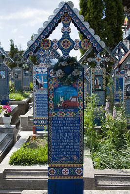 31.05. Fröhlicher Friedhof, Săpânța