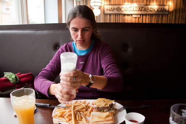 5.8. Akureyri - ausgezeichnetes Essen in der Hamborgarafabrikkan