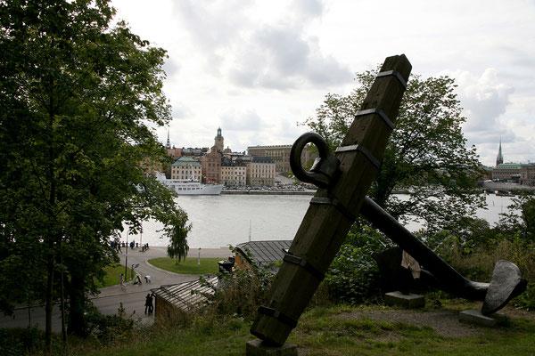 Skeppsholmen, Blick auf Skeppsbron