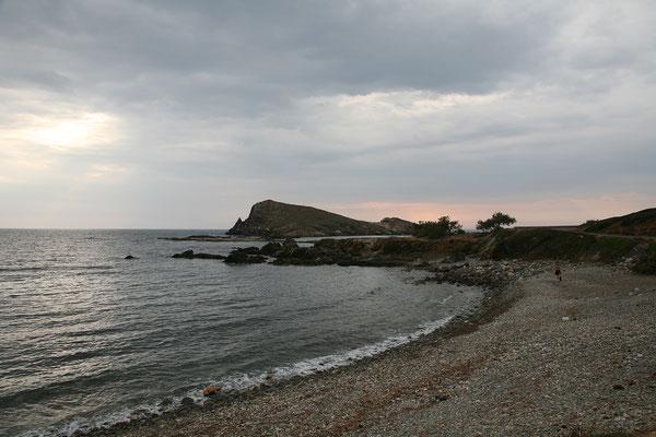 5.6. Cap Corse: wir übernachten heute am Camping L'Isolottu in der Nähe des Ortes Centuri Port