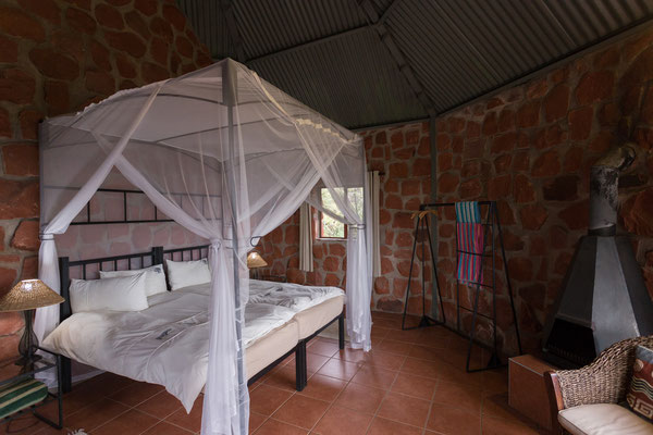 21.4. Waterberg Wilderness, unser Bungalow