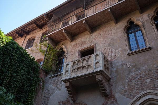 24.09. Verona - Balkon der Julia