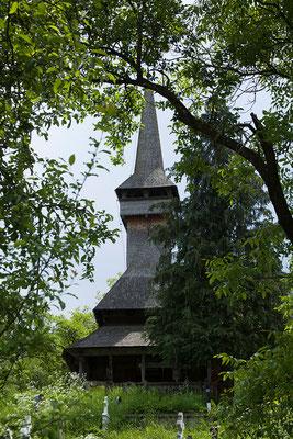 02.06. Auch die Holzkirche von Poienile Izei ist UNESCO Weltkulturerbe.