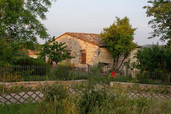 8.6. Unterwegs von Castellina zur Villa Francesca.