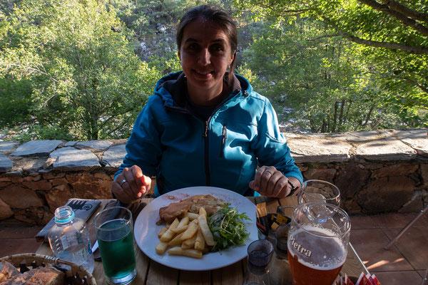 01.06. Wir übernachten am Camping L'Alzelli im Fango-Tal, direkt am Fango gelegen.