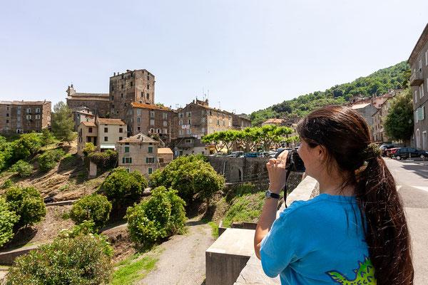 22.5. Wir verlassen Bastia bald und fahren in die Region Casinca. Erster Stopp ist das Örtchen Vescovato.