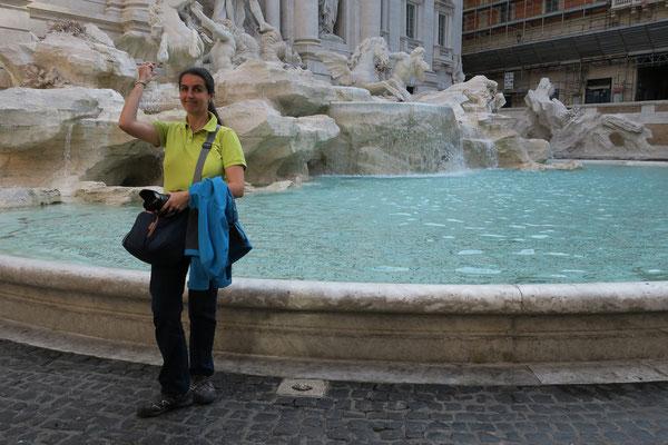 23.05. Fontana di Trevi am frühen Morgen ohne andere Touristen