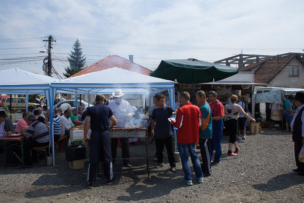 04.06. Markt in Reghin