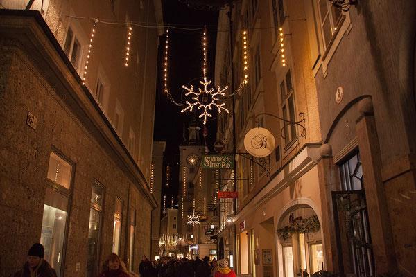Spaziergang durch die weihnachtliche Altstadt