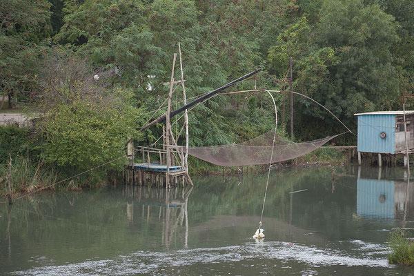 17.9. Fischfang in der  Bojana
