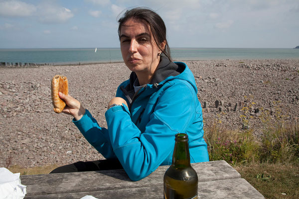 05.09. Cornish Pasty, Porlock Weir