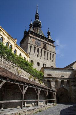 """05.06. Sighișoara, Turnul cu Ceas mit """"Altfrauengang"""""""