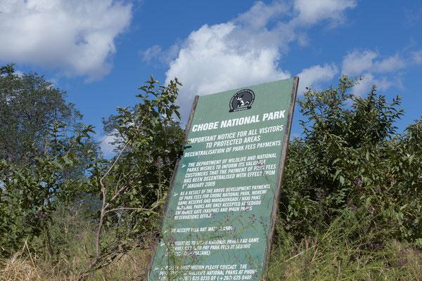 04.05. Bei Kachikau kommen wir in den Chobe NP.