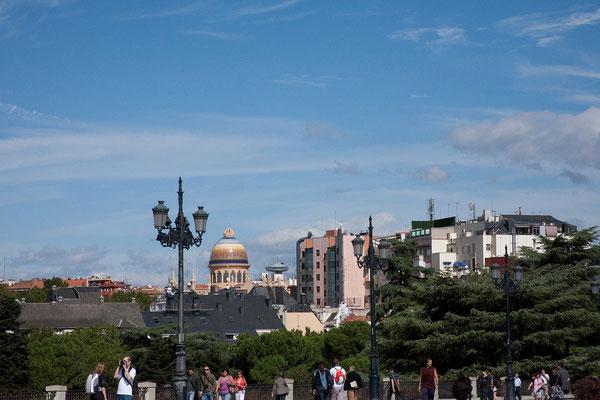 24.09. Plaza de Oriente: Aussicht