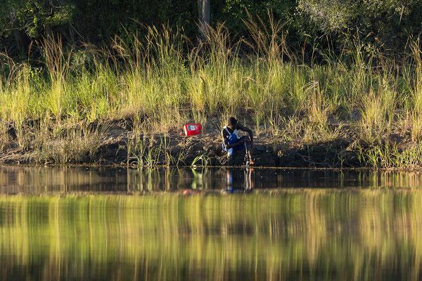 23.4. Bootsfahrt auf dem Kavango