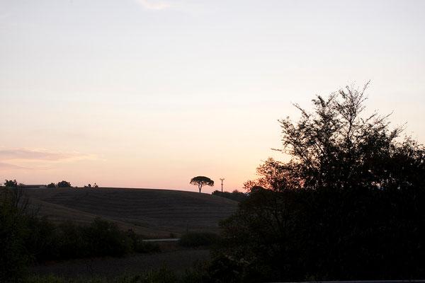 18.09. Sonnenaufgang in der Toskana