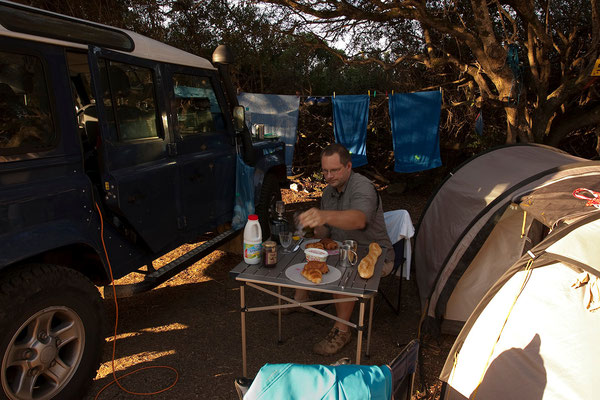 08.09. Olmeto-Plage, Camping Chez Antoine