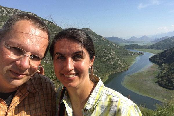 Montenegro, Blick auf den Skadarsko Jezero, 2016