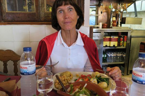 18.09. Ausgezeichnetess Mittagessen im Restaurante Trascardoso