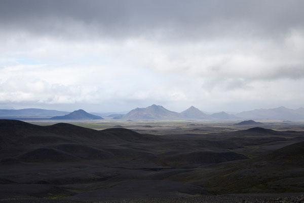 31.7. Auf der 901 Richtung Möðrudalur