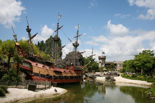 11.06. Disneyland Paris: Piraten der Karibik
