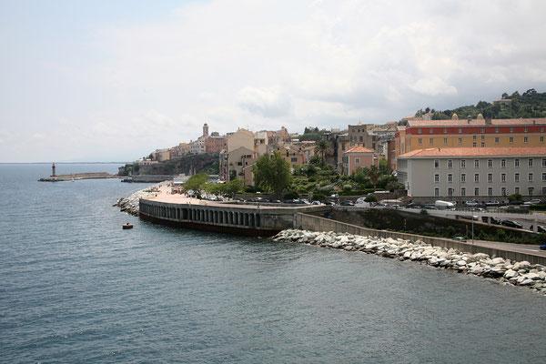 ... wir blicken noch einmal zurück auf Bastia.