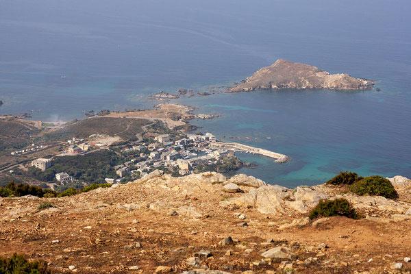 6.6. Cap Corse: Blick auf Barcaggio