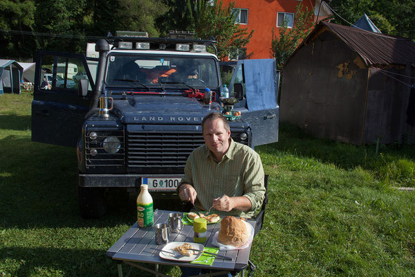 19.06. Apuseni: Campingplatz in Gârda de Sus
