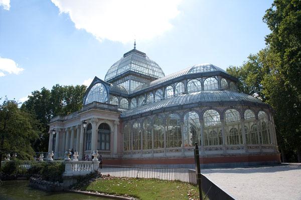 24.09. Retiro Park: Palacio de Cristal
