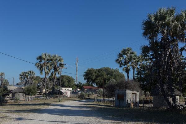 15.05. Bei etwa 8 Grad stehen wir um 7 Uhr auf. Nach dem Frühstück brechen wir auf und verlassen Khumaga.