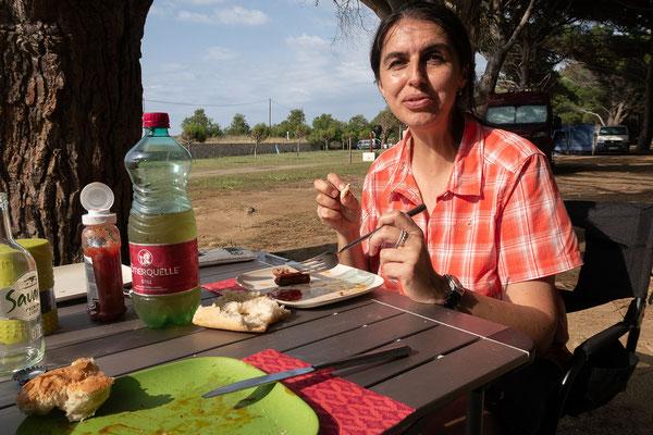30.05. Camping de la Plage in Algajola