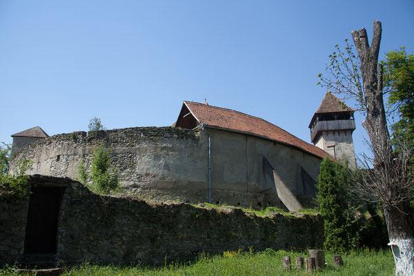 13.06. Câlnic: Die im 13. Jh. durch die sächsische Adelsfamilie Kelling erbaute Burg zählt ebenfalls zum UNESCO Weltkulturerbe.