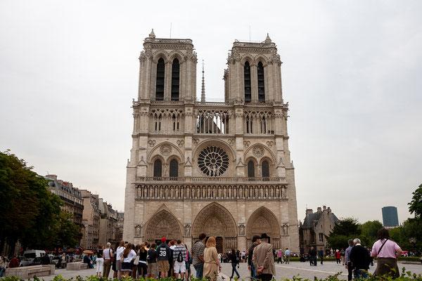 12.06. Hauptattraktion auf der Île de la Cité ist natürlich Notre Dame