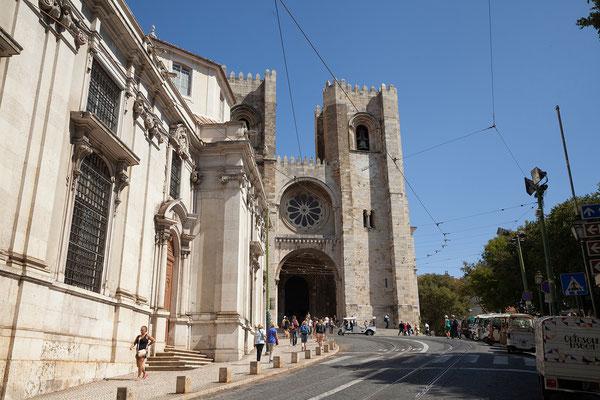 15.09. Der Grundstein der Kathedrale (Sé) wurde 1147 auf den Resten einer Moschee gelegt.