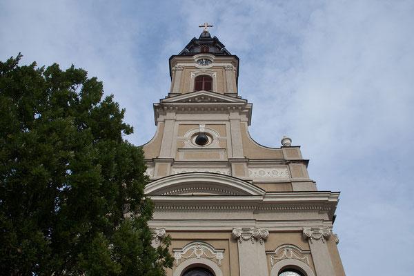 19.06. Oradea: Biserica cu Lună