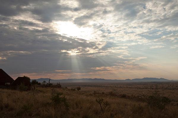 18.2. Blick auf das Farmland von Camp Gecko