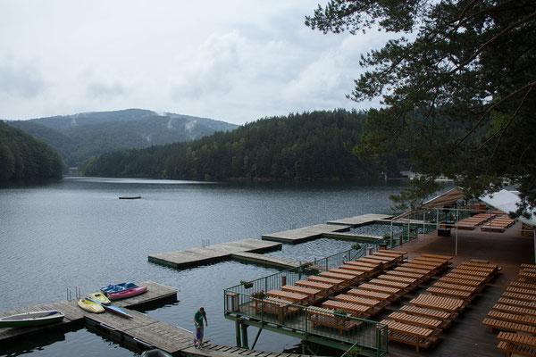 12.6. Lacul Văliug im Semenic Nationalpark