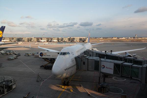 18.4. Unser Flugzeug wartet schon (Flughafen Frankfurt)