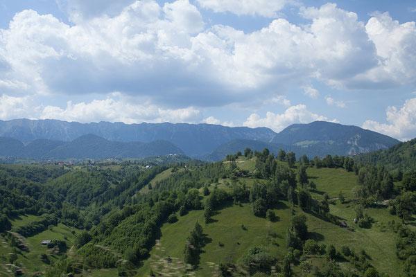 09.06. Nach dem Trubel in Peleș und Bran zieht es uns wieder in ruhigere Gefielde.