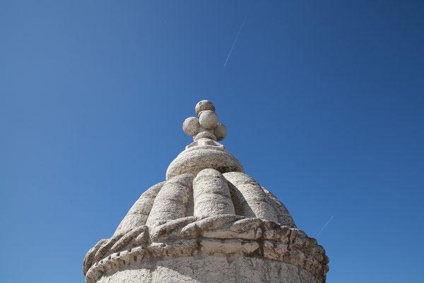 16.09.  Der Torre de Belém wurde zwischen 1514 und 1520 erbaut. Ab 1580 diente er als Kerker.