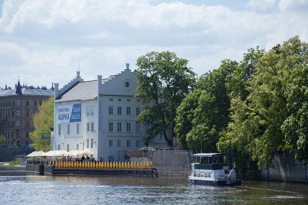 07.05. Bootsfahrt auf der Moldau, Kampa Museum