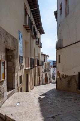 04.04. Um diese Jahreszeit ist Morella nicht überlaufen; außer uns sind kaum Touristen hier.