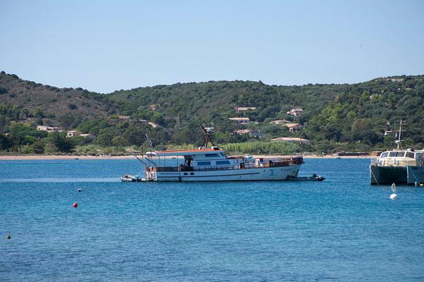 10.09. MS Galiote in der Bucht von Santa Manza