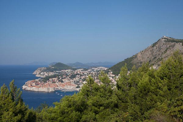 22.09. Blick auf Dubrovnik
